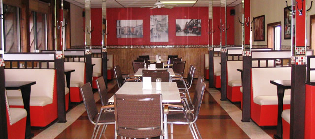 Motel Spring; Restaurant Dining Room